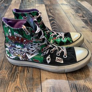 Converse chuck Taylor high top joker & Harley